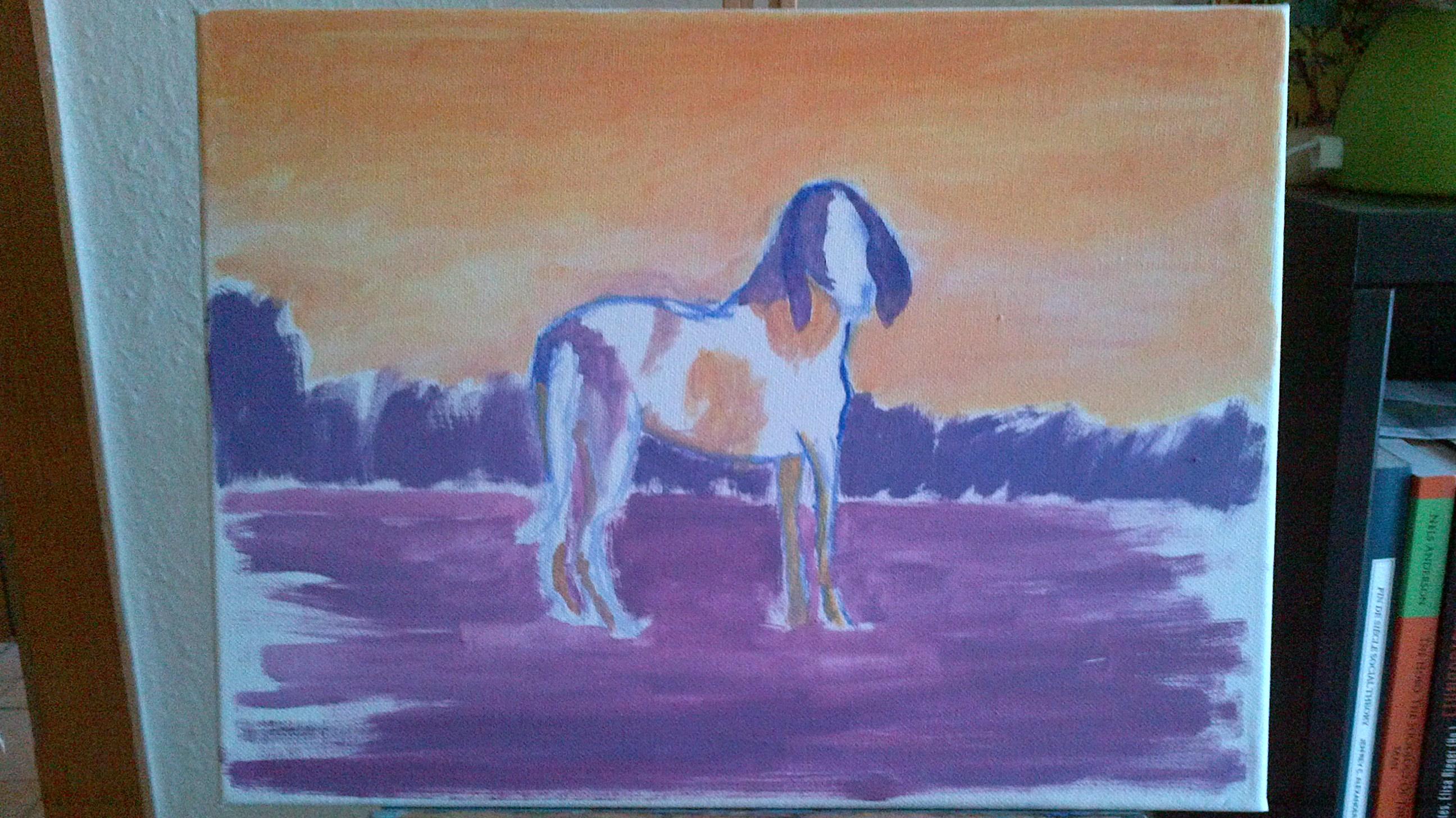 Eddas Hund, Untermalung.