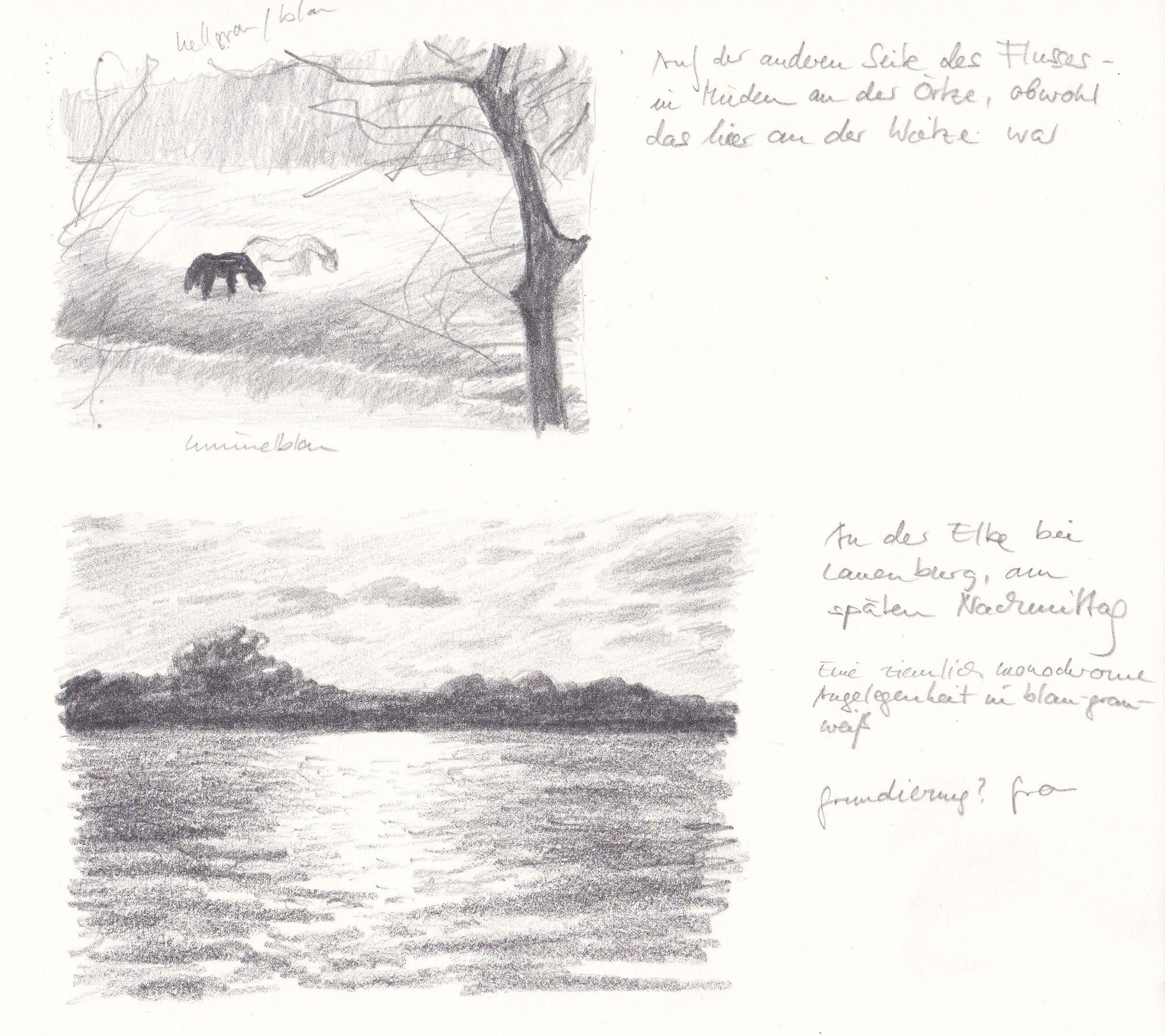 Aus dem Skizzenbuch/From my sketchbook