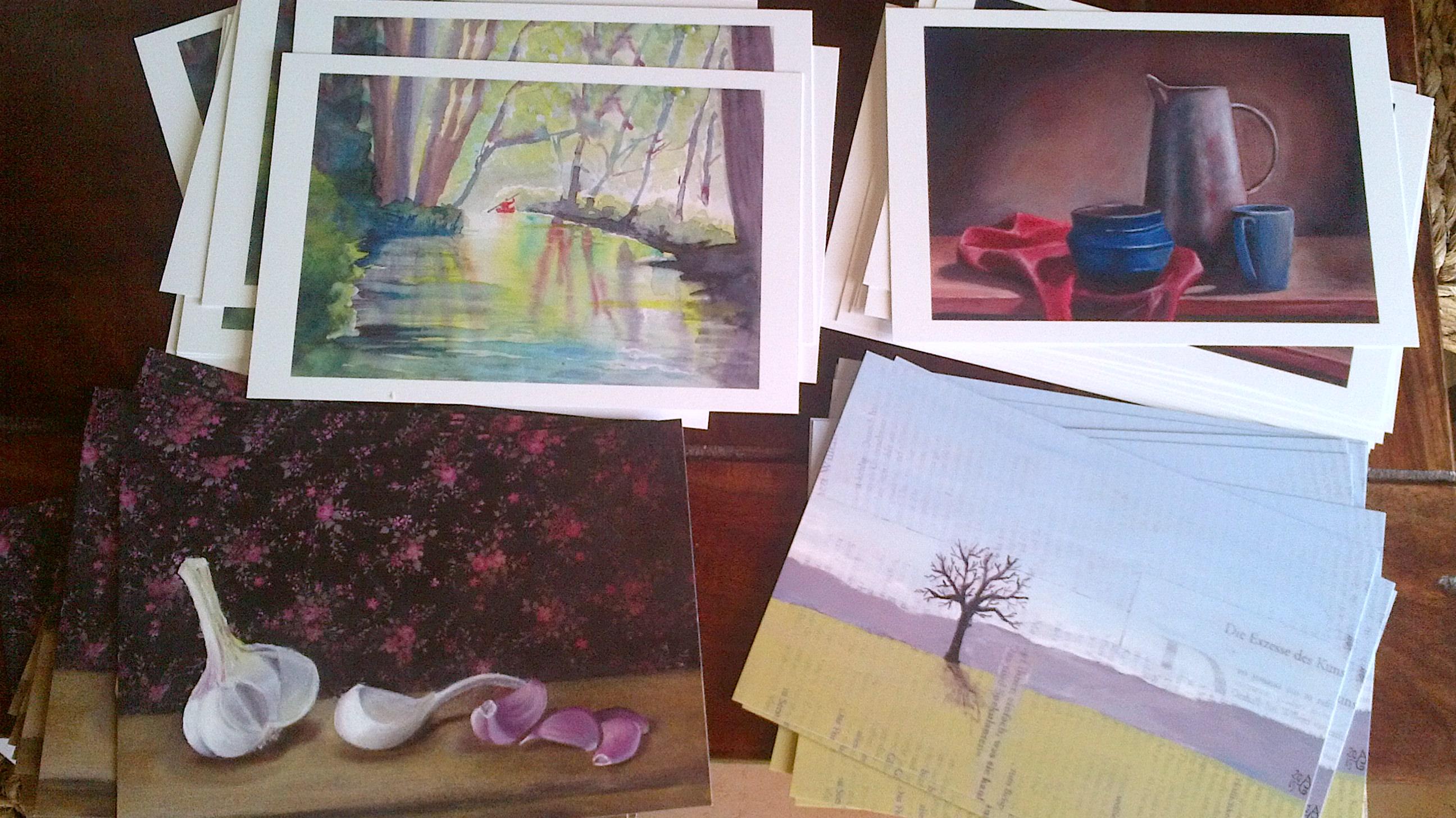 Neue Karten/ New postcards