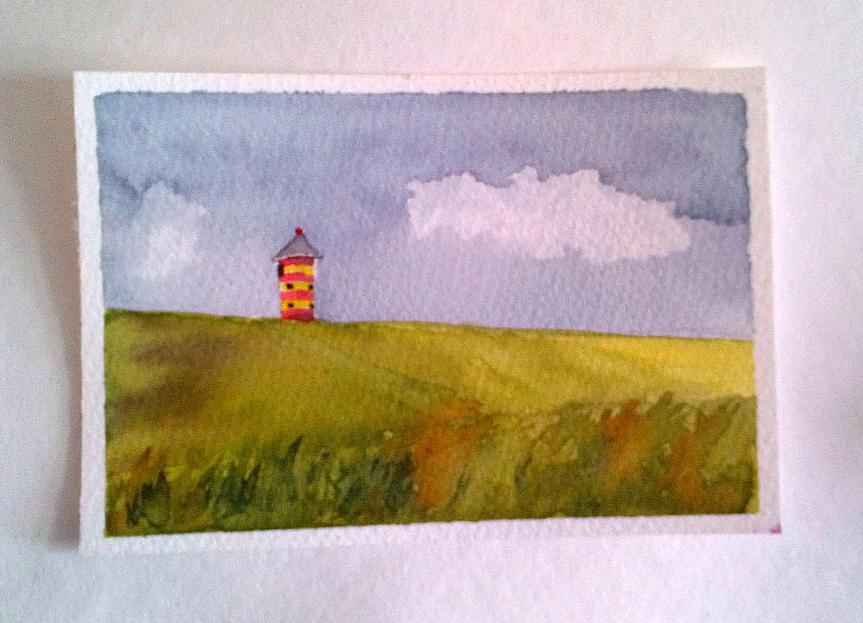 Letztes Bild am dritten Tag/ Last little painting on the 3rd day