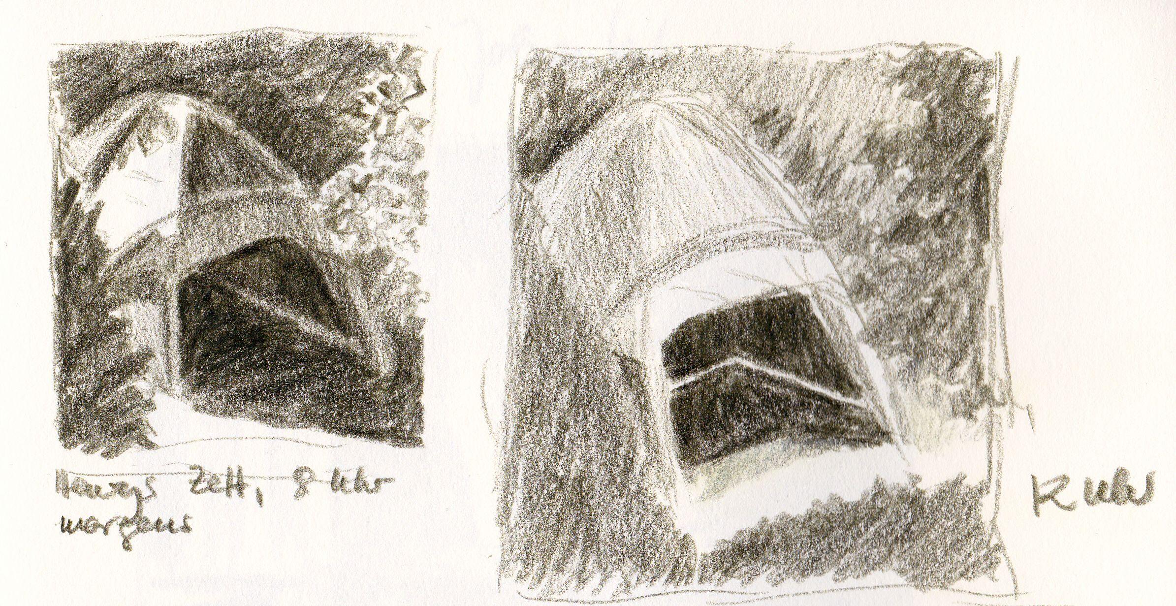 Henrys Zelt/ Henry's tent.