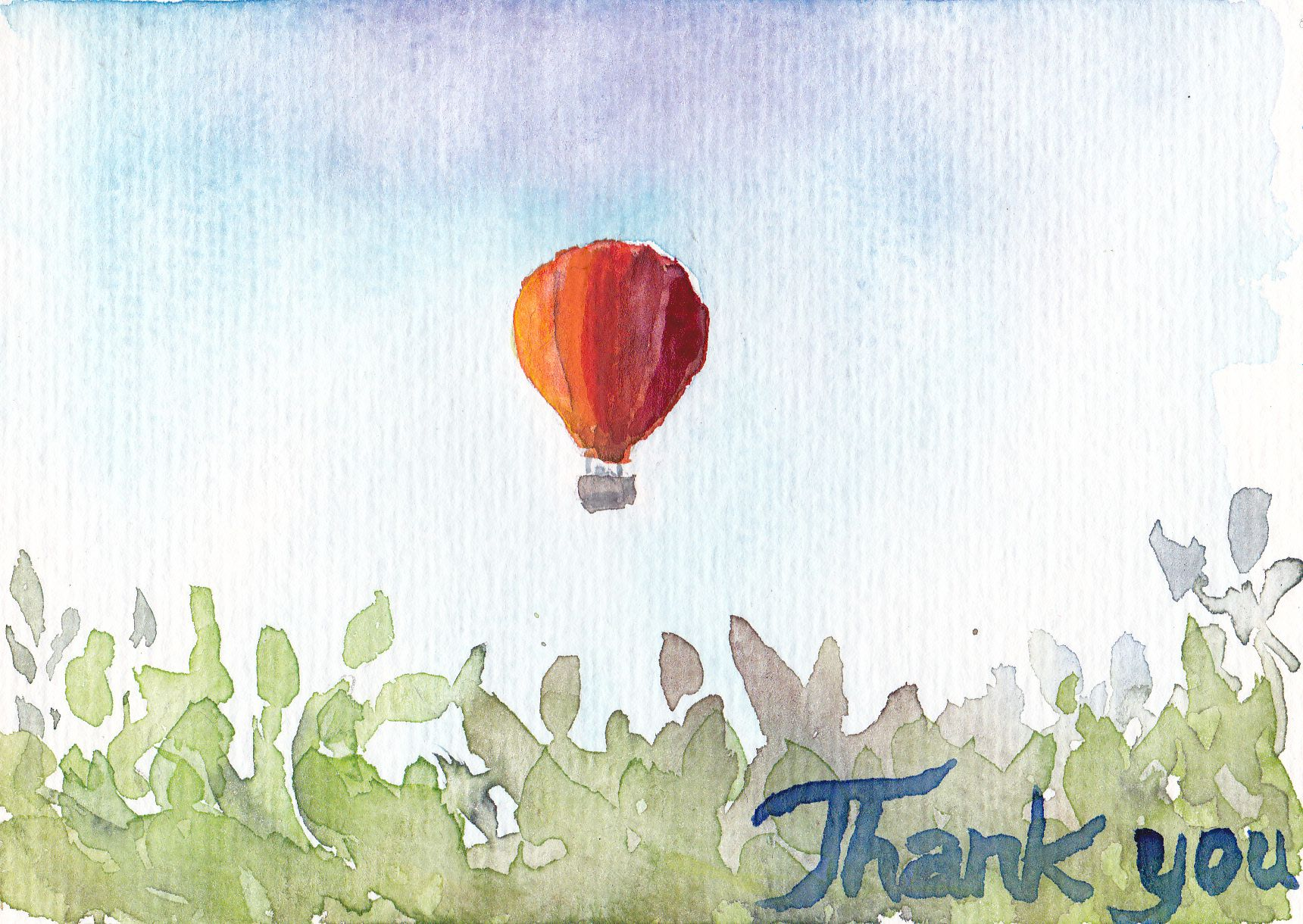 Allgemeine Karte/ Generic thank-you card