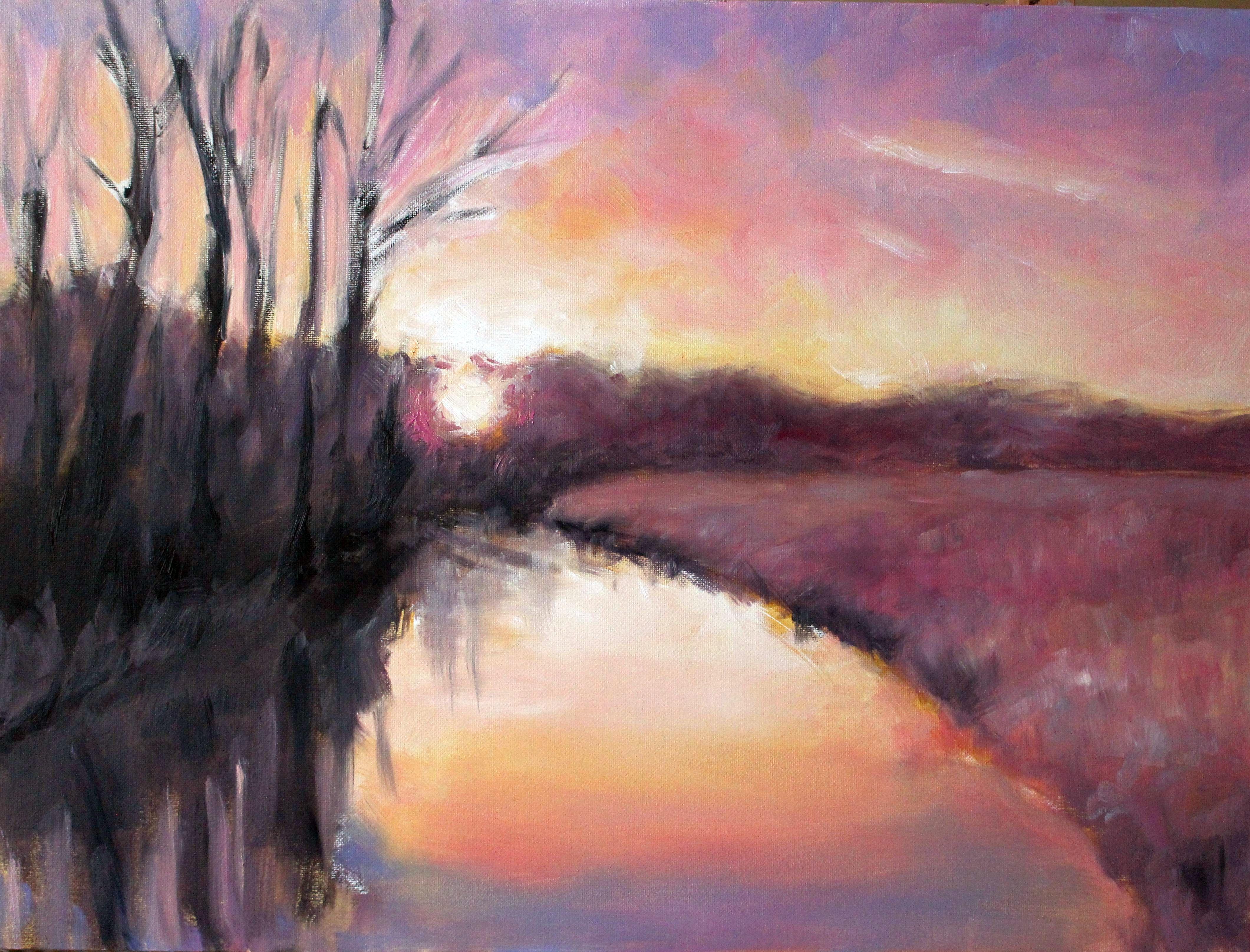 Sonnenaufgang Illmenau