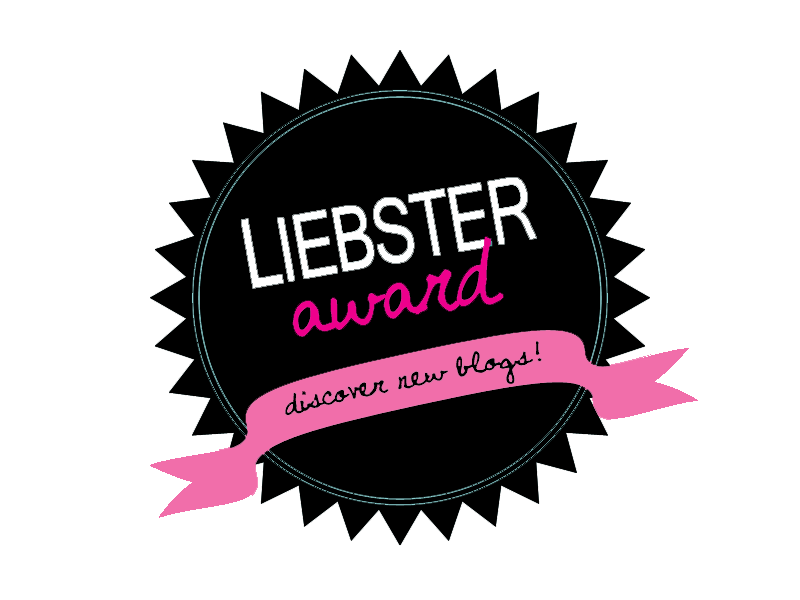 Thank-you for the Liebster Award!