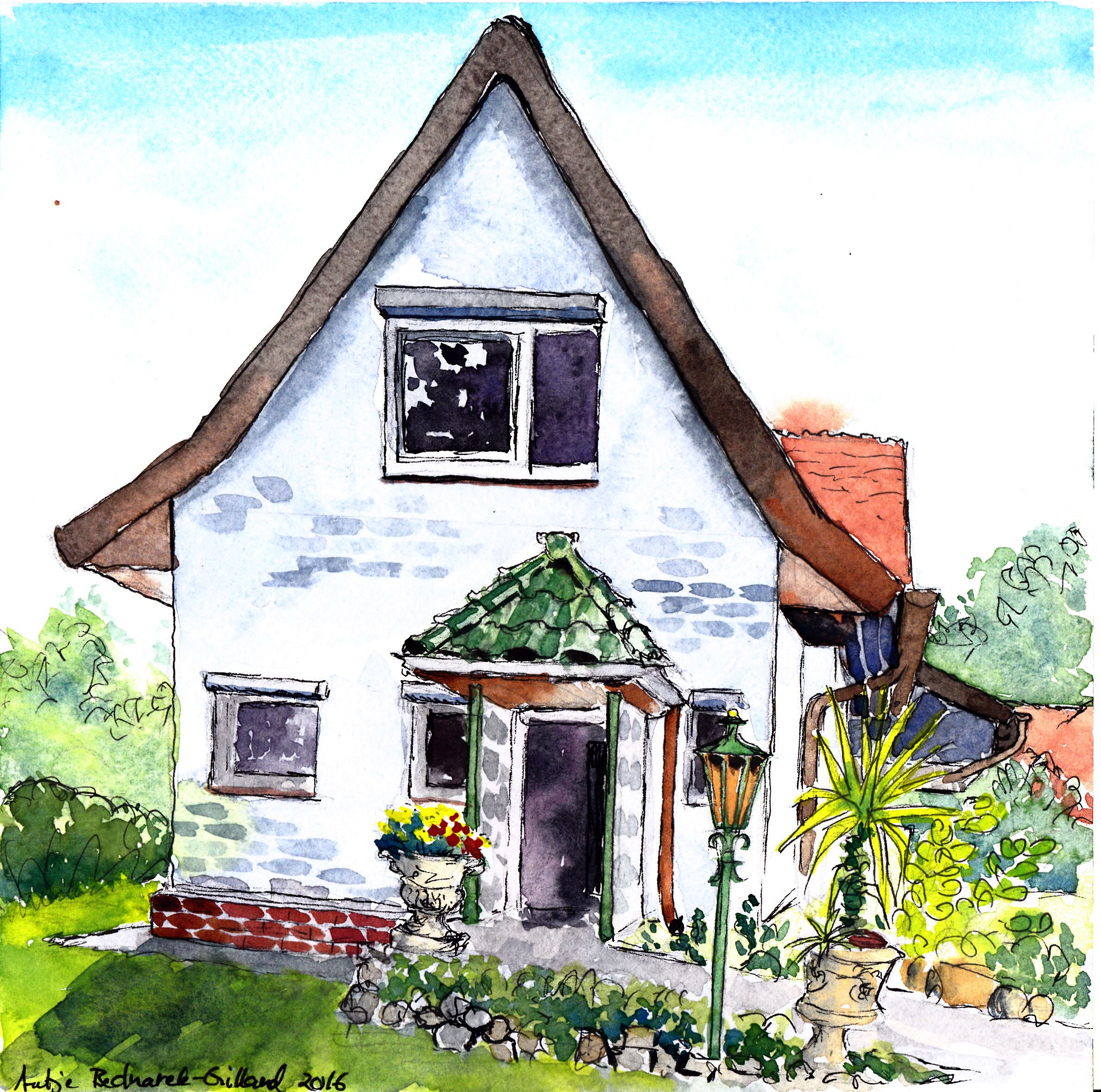 Angled house | Haus mit Winkel