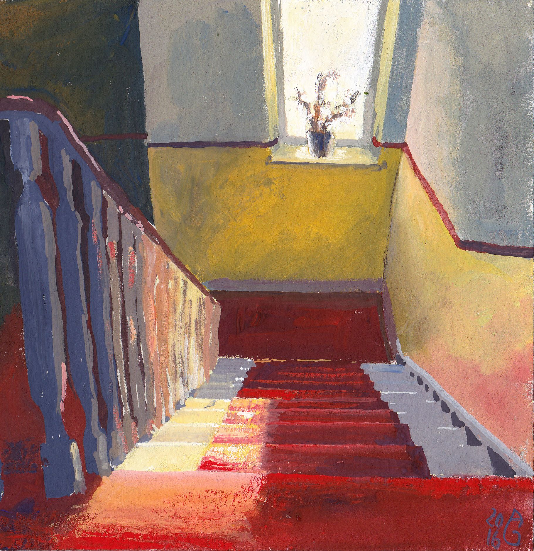 Down the stairs | Treppe runter