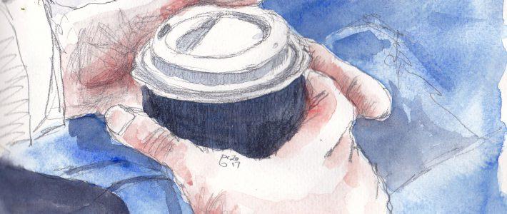Coffee and paper | Kaffee und Zeitung