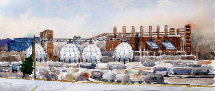 Horton spheres | Kugelgasbehälter
