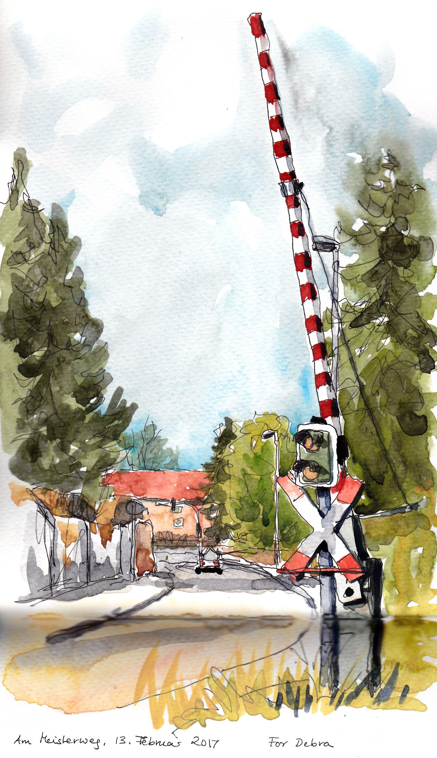 Meisterweg_Bahnübergang