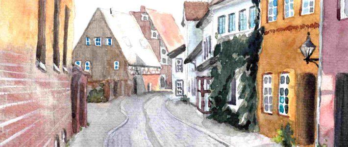 Luneburg Old town | Lüneburger Altstadt