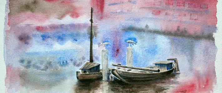 The port #2 | Der Hafen, 2. Versuch