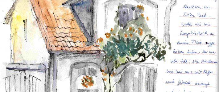 Sketching in Lüneburg