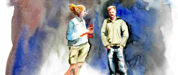 Julia & David