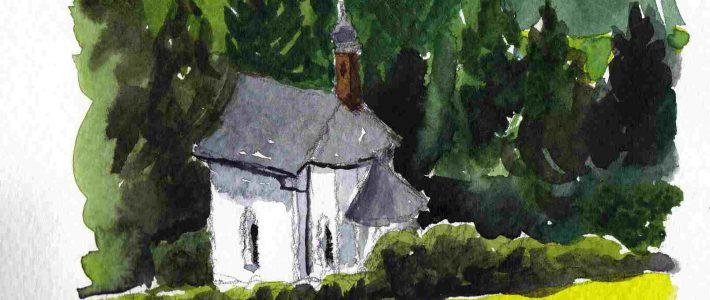 A barn and a chapel | Eine Scheune und eine Kapelle
