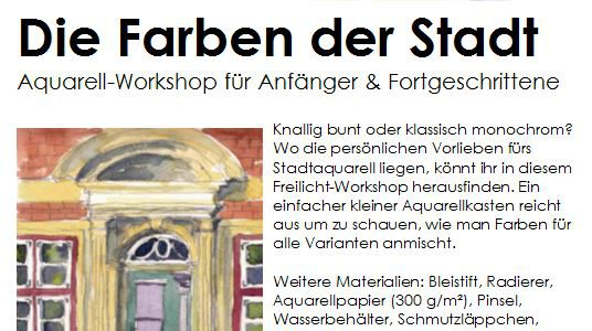 Workshop am 12. August