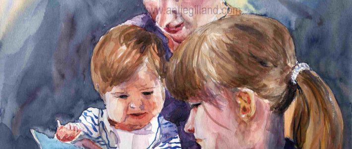 Musings on figurative work | Überlegungen zum Malen von Personen