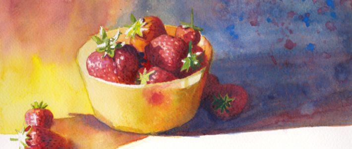 Zur Abwechslung mal Erdbeeren