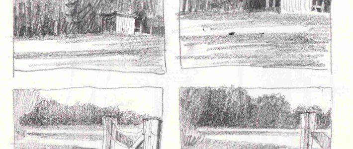 Mini Skizzen für riesige Bildwirkung, oder: Bessere Bilder durch ein bisschen Planung