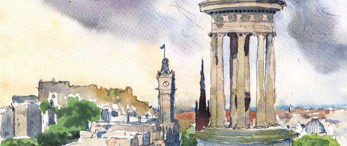 Update und Vorbereitungen für die Schottland-Malreise 2020