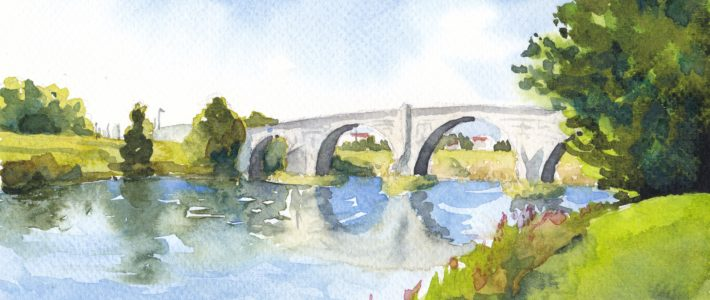 Die Alte Brücke in Stirling